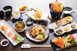 瀬戸内の魚と地元の野菜にこだわり 四季折々、旬の素材を使った 安心できるお料理